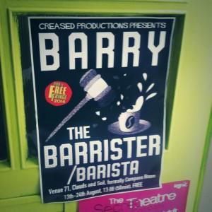 Barrister Barista